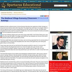 The Medieval Village Economy (Classroom Activity)