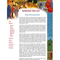 Medieval European History
