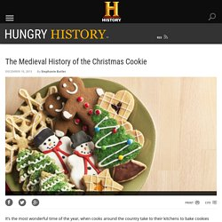 The Medieval History of the Christmas Cookie - Hungry History