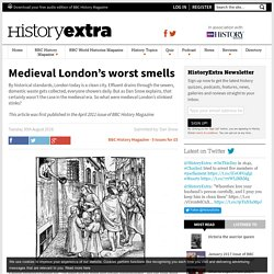 Medieval London's worst smells