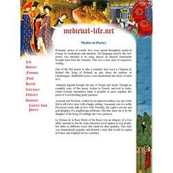 Medieval Poetry