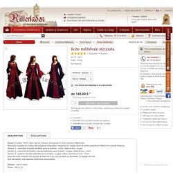 Robe médiévale Miranda