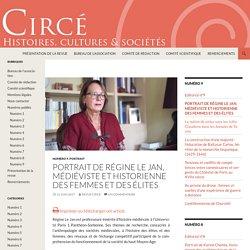 Portrait de Régine Le Jan, médiéviste et historienne des femmes et des élites