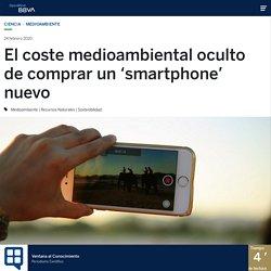 El coste medioambiental oculto de comprar un 'smartphone' nuevo