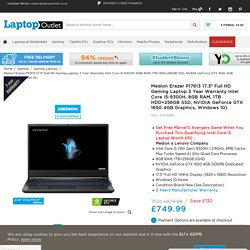 Buy Gaming Laptops from Laptop Outlet.co.uk - Medion Erazer P17613