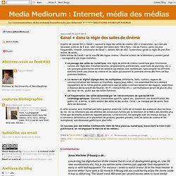 Internet, média des médias: Canal + dans la régie des salles de cinéma