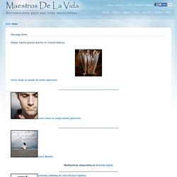 Gratis - Meditacion Maestros APP de MaestrosDeLaVida.com