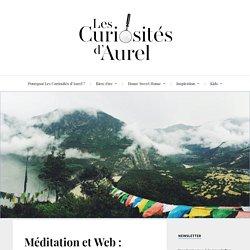 Méditation et Web : Combo gagnant ou addiction déguisée ? - Les Curiosités d'Aurel