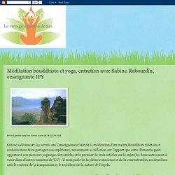 Yoga Lyon: Méditation bouddhiste et yoga, entretien avec Sabine Rabourdin, enseignante IFY