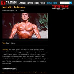 Meditation for Muscle