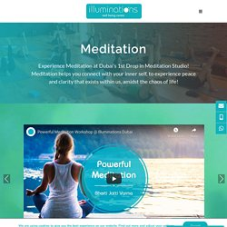 Meditation Classes in Dubai