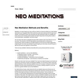 Neo Meditation Methods and Benefits