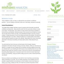Mindfulness Hamilton