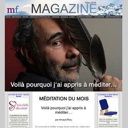 La méditation du mois : Réelle observation