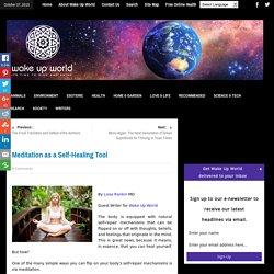 Meditation as a Self-Healing Tool