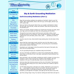 Deep Grounding Meditation