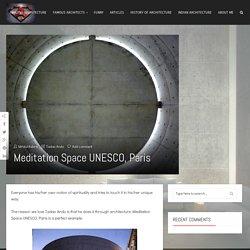 Meditation Space UNESCO, Paris - Architect Boy