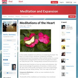 Meditations of the Heart - Meditation and Expansion (Berlin)