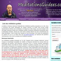 MeditationsGuidees.com