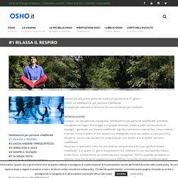 Corso di Meditazione online - #1 Rilassa il respiro