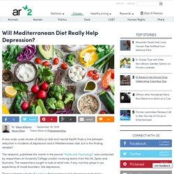 Will Mediterranean Diet Really Help Depression?