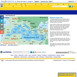 map of the mediterranean sea and mediterranean sea map size depth history information page