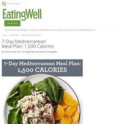 7-Day Mediterranean Meal Plan: 1,500 Calories
