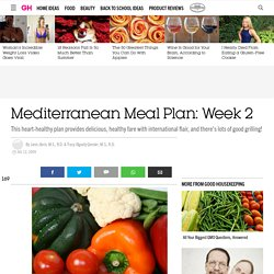 Mediterranean Meal Plan: Week 2