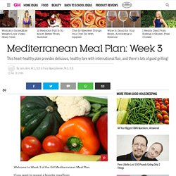 Mediterranean Meal Plan: Week 3