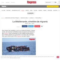 La Méditerranée, cimetière de migrants