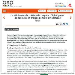 La Méditerranée médiévale: espace d'échanges et de conflits à la croisée de trois civilisations