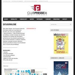Club de la Presse Méditerranée 06 – Datajournalisme