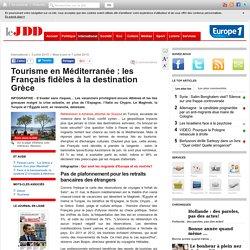 Tourisme en Méditerranée : les Français fidèles à la destination Grèce