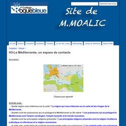 H3-La Méditerranée, un espace de contacts - Site de M.Moalic