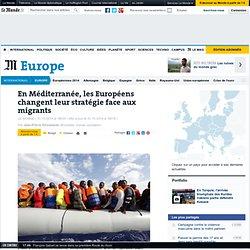 En Méditerranée, les Européens changent leur fusil d'épaule face aux migrants