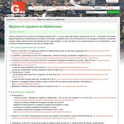 Migrants et migrations en Méditerranée
