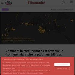 Comment la Méditerranée est devenue la frontière migratoire la plus meurtrière au monde. Carte interactive