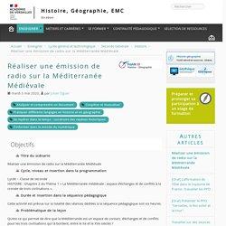 Réaliser une émission de radio sur la Méditerranée Médiévale