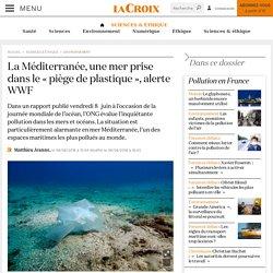 La Méditerranée, une mer prise dans le «piège de plastique», alerte WWF