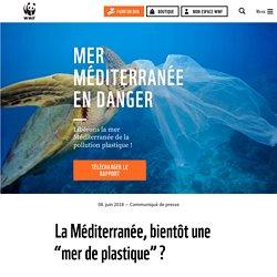 WWF - JUIN 2018 - Mer Méditerranée en danger - Libérons la mer Méditerranée de la pollution plastique! Rapport en ligne.