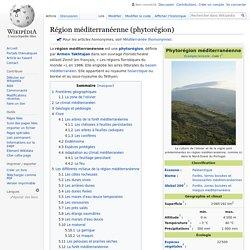 Région méditerranéenne (phytorégion)