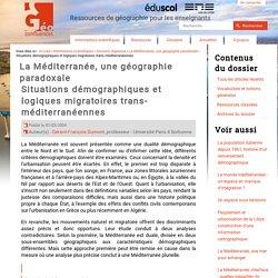 Situations démographiques et logiques migratoires trans-méditerranéennes