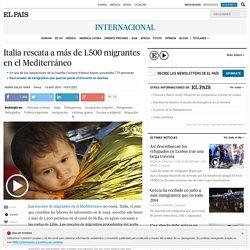 Inmigración: Italia rescata a más de 1.500 migrantes en el Mediterráneo