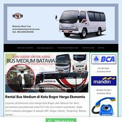 Rental Bus Medium Wisata di Bogor Tarif Ekonomis