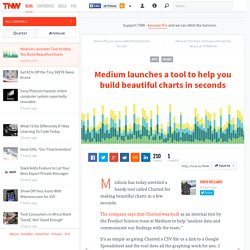 Medium Launches Tool to Help You Build Beautiful Charts