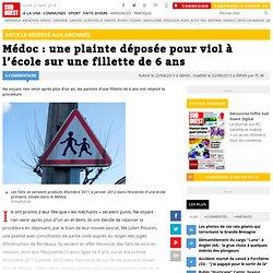 Médoc : une plainte déposée pour viol à l'école sur une fillette de 6 ans