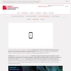 mEducation Mobile World Capital Barcelona