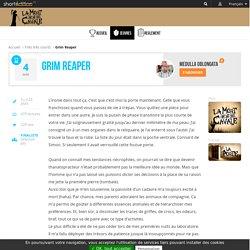 L'œuvre Grim Reaper par l'auteur Medulla Oblongata, disponible en ligne depuis 22 jours et 19 heures - L'ironie dans tout ça,
