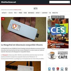 La MeegoPad est désormais compatible Ubuntu