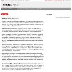 NRC: Meer schuld dan bezit 27-03-2007